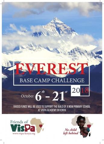 Vispa Everest Climb leaflet A5 PR-1